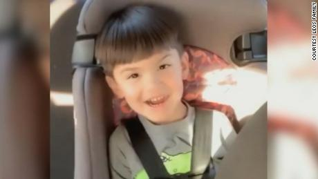 Aiden Leos died after being shot in a suspected road rage incident as his mom drove him to kindergarten.