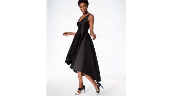 Calvin Klein High-Low-Kleid in A-Linie