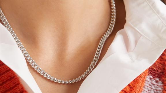Loren Stewart Silver Necklace