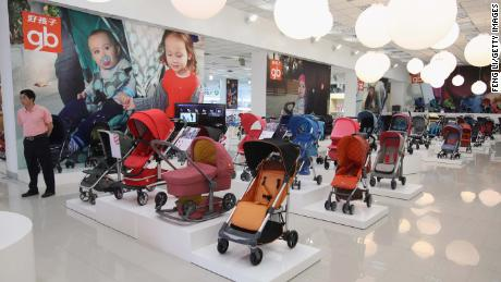 China's new three-child policy spikes infant and maternity supplies and