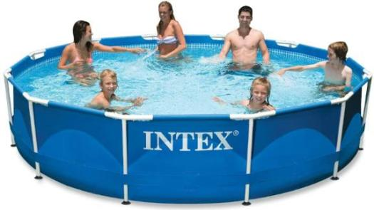 Intex Metal-Frame Pool Set