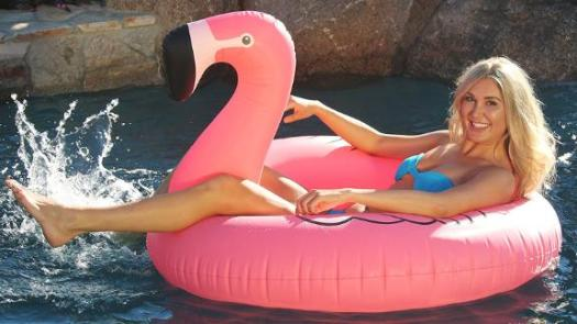 GoFloats Flamingo Pool Float