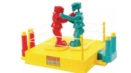 Rock 'Em Sock 'Em Robots Board Game