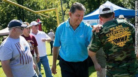What do the constituents of Joe Manchin think about his bipartisanship?