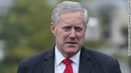 Trump's chief of staff Mark Meadows prompts DOJ to investigate baseless election fraud claims
