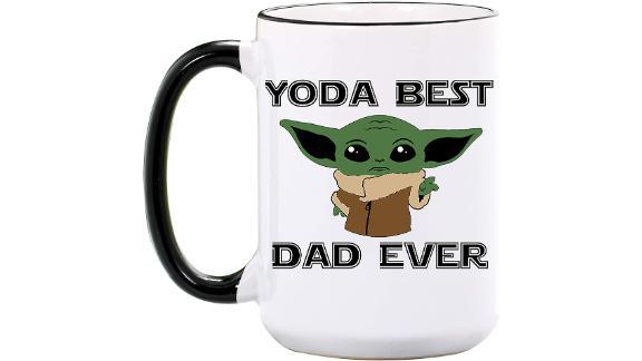 Wimly Company Yoda Best Dad Ever Mug