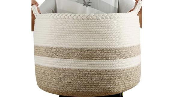 Extra-Large Cotton Rope Basket