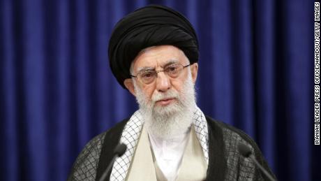 Iranian Supreme Leader Ayatollah Ali Khamanei speaks in Tehran on June 4.