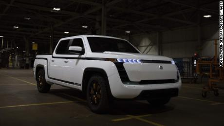 Electric truck startup Lordstown Motors warns it may go out of business
