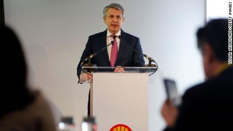 Ben van Burden, chief executive officer of Royal Dutch Shell.