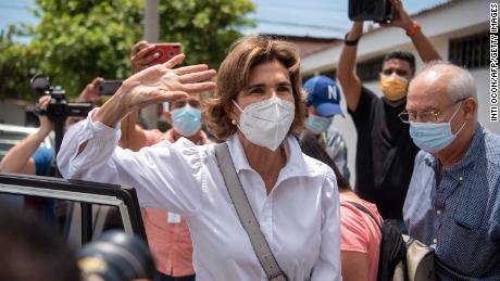 Cristiana Chamorro, former director of the Violeta Barrios de Chamorro Foundation, was placed under house arrest last week.