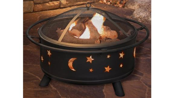 Jackman Steel Wood-Burning Outdoor Fire Pit
