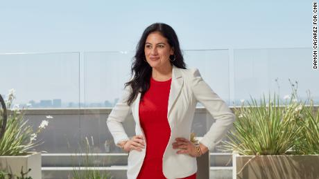 """Carolina Garcia, Director of Original Series at Netflix, wants to see Latinx stories and creators elevated. """"I love it when people of our culture shine,"""" Garcia said. """"It's just a good thing for, you know, 'la gente.' The world needs more of that -- not at the expense of anyone else -- but I want us as a people to feel the pride in who we are and what we do."""""""