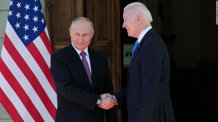 Biden and Putin begin high-stakes summit