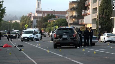 One person was killed and at least six others were wounded in a shooting at Lake Merritt, the Oakland Police Department (OPD) said in a media release on Sunday.