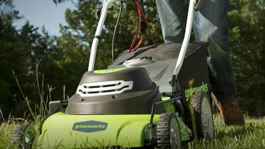 Greenworks 12 Amp 20-Inch 3-in-1 Electric Corded Lawn Mower