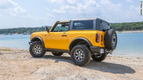 The Ford Bronco is aimed squarely at the Jeep Wrangler.