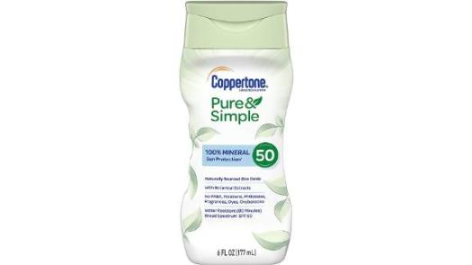 Coppertone Pure & Simple Sunscreen Lotion