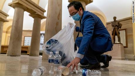 6 Months After Deadly Rebellion, Lawmaker Donates Suit Worn To Smithsonian To Clean Up Capitol Riot