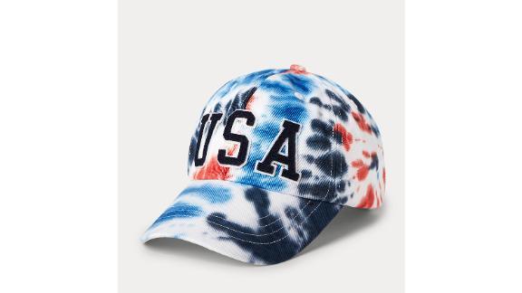 Polo Ralph Lauren Team USA Tie-Dye Chino Ball Cap