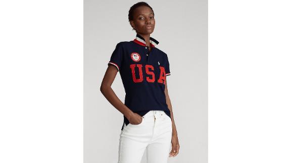 Polo Ralph Lauren Ecofast Pure Team USA Women's Polo Shirt