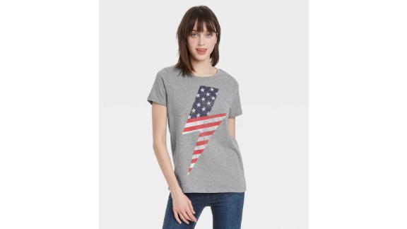 Women's USA Lightning Bolt T-Shirt