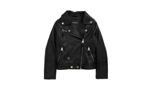 Urban Republic Kids' Quilted Faux Leather Moto Jacket
