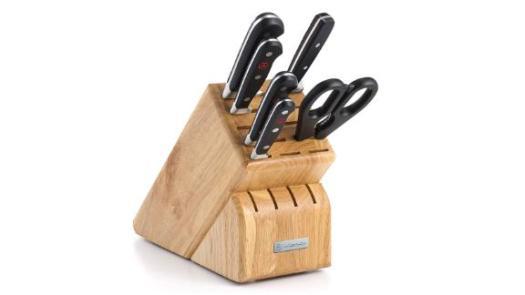 Wusthof Classic Seven Piece Knife Block Set