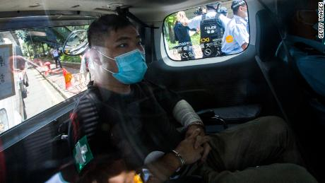 First person charged under Hong Kong's national security law sentenced to 9 years in prison