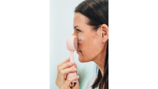 PMD Pro Clean Rose Quartz Facial Cleansing Device