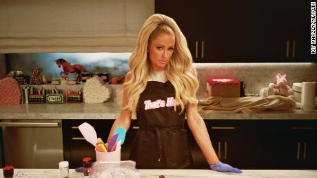 "Paris Hilton stars in ""Cooking With Paris."""