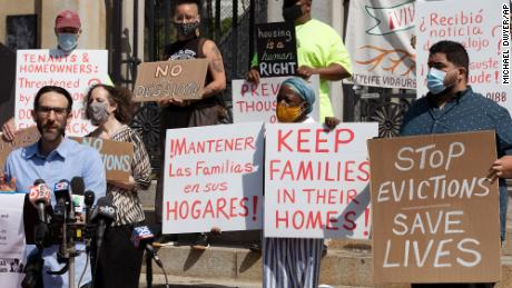 CDC announces limited, targeted evictions moratorium until early October