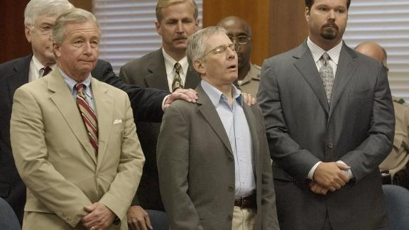 Durst appears in a Galveston courtroom for an unrelated case in 2003. Durst admitted then that he had killed and dismembered Morris Black, a neighbor in Galveston, but he argued he'd shot Black in self-defense during a struggle. A jury found Durst not guilty, but he remained in jail for a time because of a bail jumping charge.