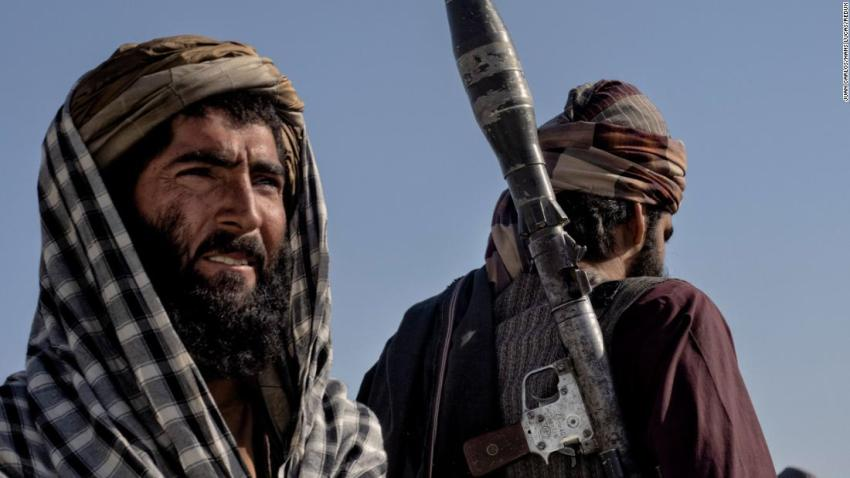 """Taliban fighters are seen in Kandahar, Afghanistan, on August 14. The Taliban had seized Kandahar, the country's second-largest city, and a number of other provincial capitals. Kandahar, which lies in the south of the country, had been besieged by the Taliban for weeks. Manyobservers <a href=""""https://www.cnn.com/world/live-news/afghanistan-taliban-us-troops-intl-08-13-21/index.html"""" target=""""_blank"""">considered its fallas the beginning of the end</a> for the country's government."""