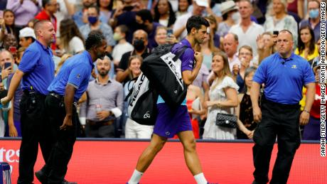"""Novak Djokovic said he thought he heard booing from the crowd in New York, but many were chanting """"Rune"""" in support of his opponent."""