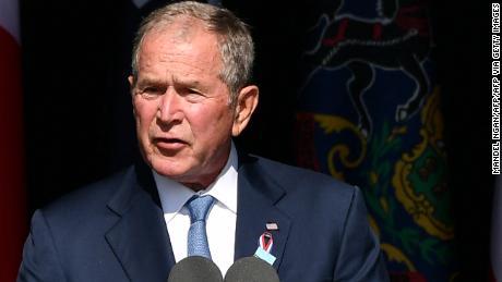Read former President George W. Bush's speech at the Flight 93 memorial service