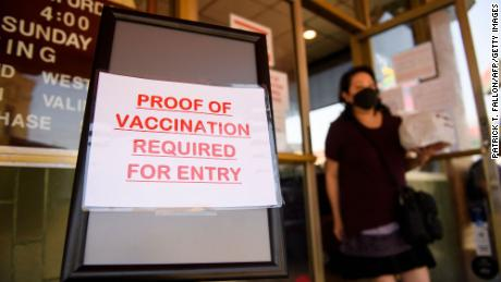 It may take 'many, many' more vaccine mandates to end the Covid-19 pandemic, Fauci says