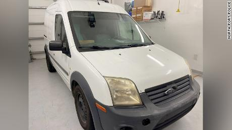 A photo of Gabby Petito's and Brian Laundrie's van was released by North Port Police.