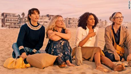 "Alexia Landeau, Elizabeth Shue, Sarah Jones and Julie Delpy ""on the verge"" act in."