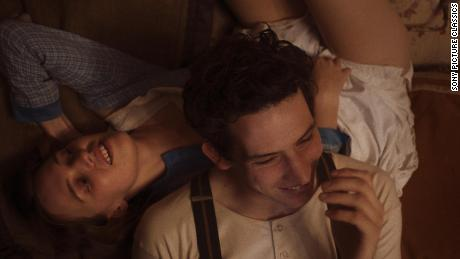 """Odessa Young and Josh O'Connor in Eva Husson's """"Mothering Sunday."""""""
