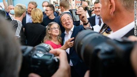 Laschet won a lengthy leadership campaign to replace Merkel, but he is struggling to attract voters on the national stage.