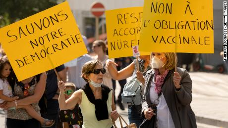 Pockets of low vaccine uptake remain in Europe.  Here's How 4 Countries Are Dealing With Them