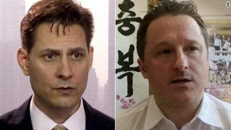 Two Canadians imprisoned by China have been released, says Prime Minister Trudeau