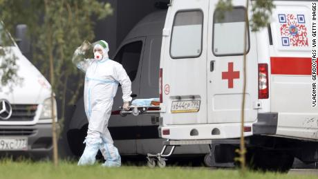 Russia reports its worst single-day Covid-19 death toll since start of pandemic