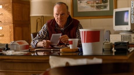 Michael Keaton joins the ensemble cast in 'Dopesic,' a Hulu miniseries about Purdue Pharma and OxyContin.