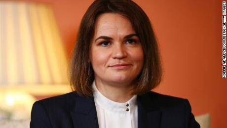 Sviatlana Tsikhanouskaya,opposition leader of Belarus, has been praised for her political campaigning.