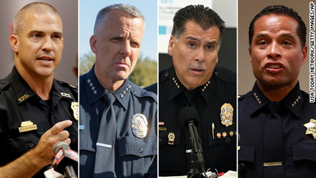 Police chiefs are leaving departments at a higher rate than previous years