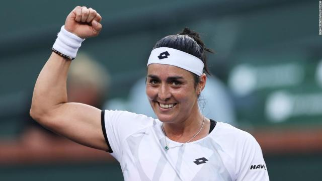 Ons Jabeur becomes first Arab tennis player -- male or female -- to break into the top 10 in singles
