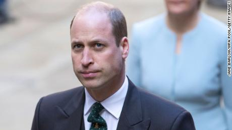 """Prince William has said that efforts to save the earth are the world's """"great mind"""" Space tourism should come before."""