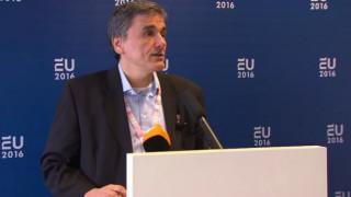 Τσακαλώτος: Αναζητούμε λύση για την προληπτική νομοθέτηση (vid)